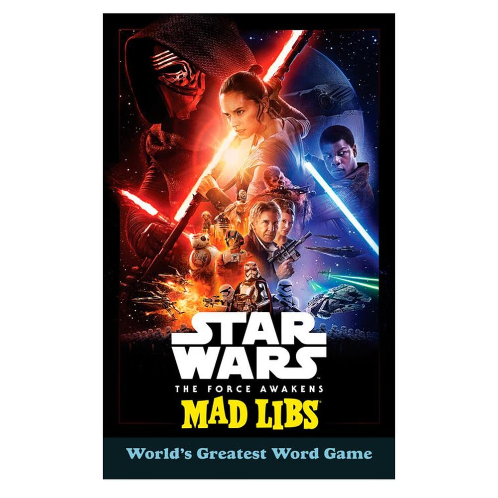 Star Wars: The Force Awakens Mad Libs, , large