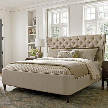 Lexington Furniture MacArthur Park Mulholland King Platform Bed in Ivory, , large