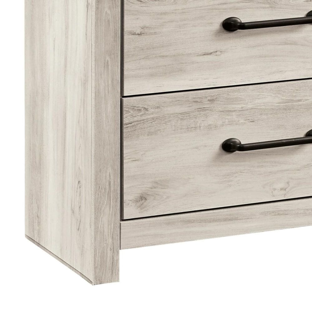 Signature Design by Ashley Cambeck 5-Drawer Chest in Whitewash, , large