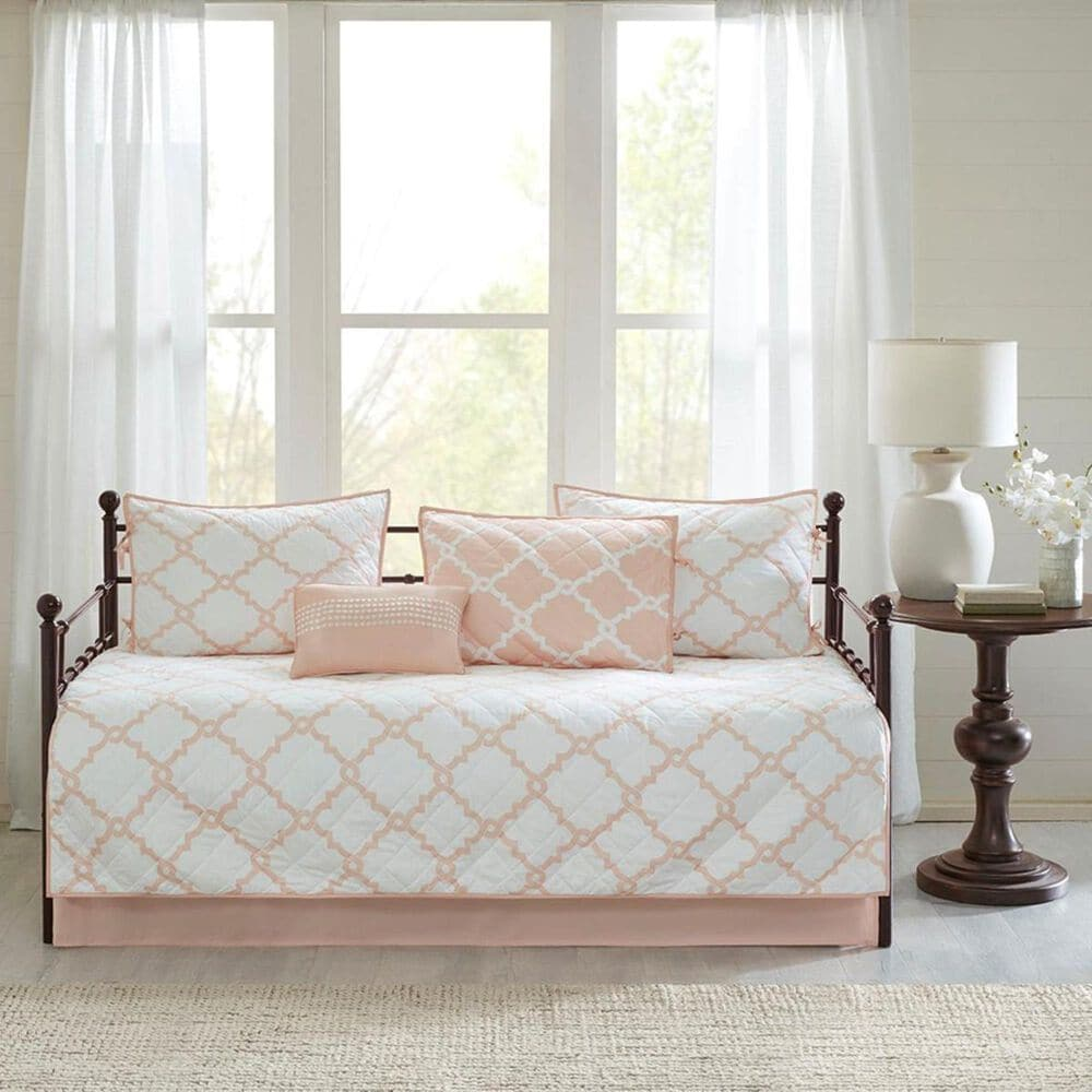 Hampton Park Merritt 6-Piece Daybed Cover Set in Blush, , large