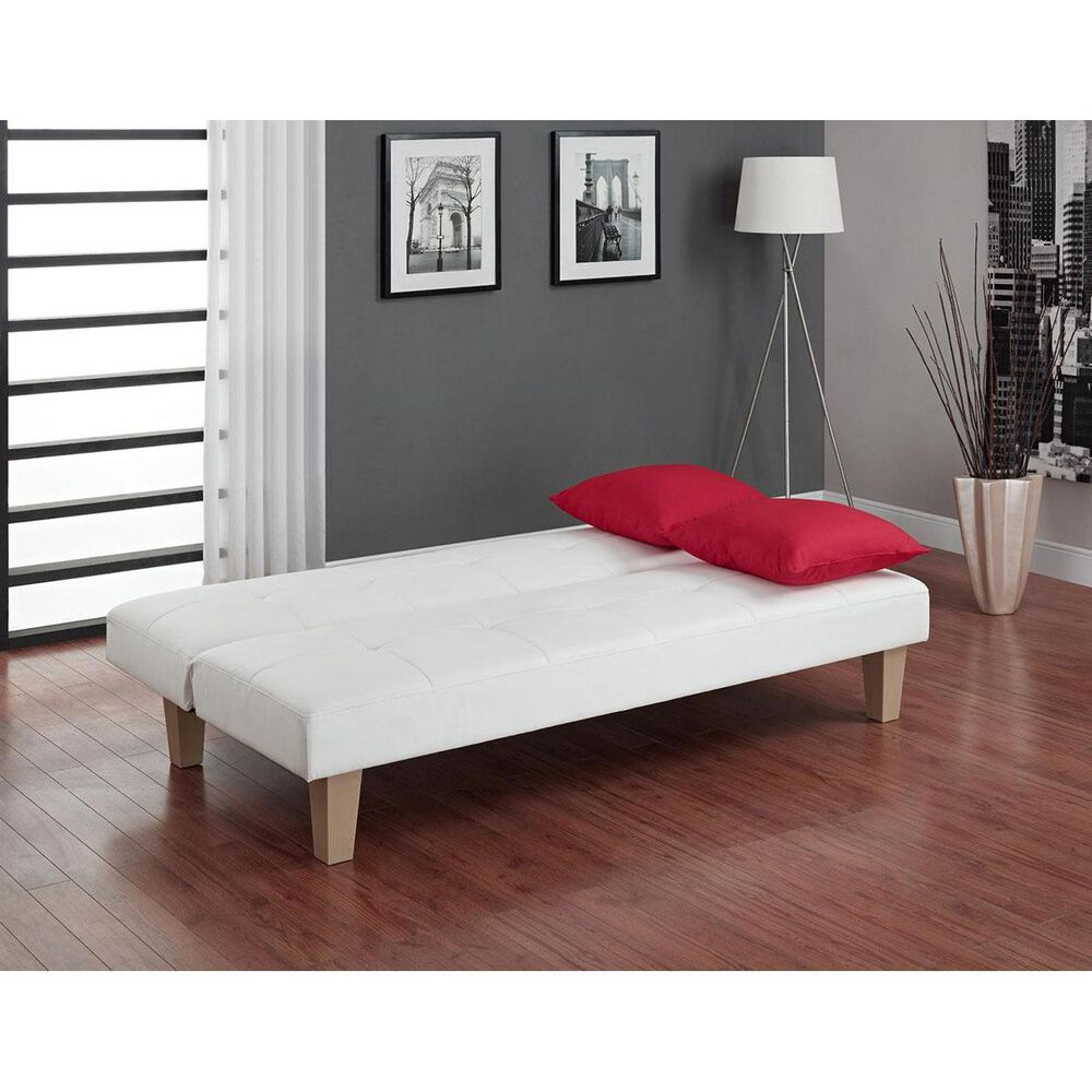 Cosco Aria Convertible Sofa in White, , large