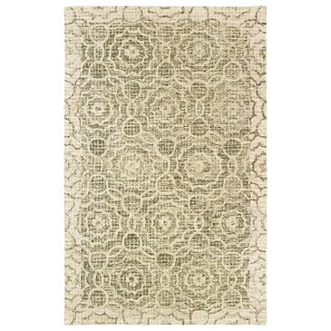 Oriental Weavers Tallavera 55606 10' x 13' Green and Ivory Area Rug, , large