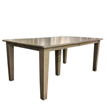 Daniel's Amish Collection Old Country Rectangular Dining Table in Gray Stone - Table Only, , large