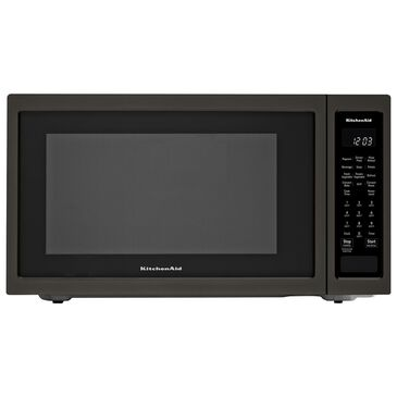 """KitchenAid 21.75"""" Countertop Convection Microwave Oven with PrintShield Finish-1000 Watt, , large"""