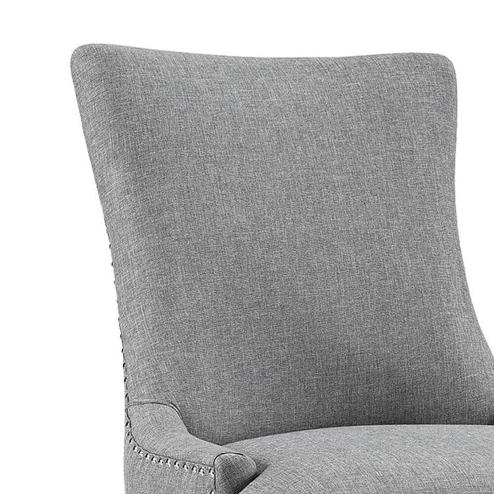 Modway Marquis Fabric Dining Chair in Light Gray, , large