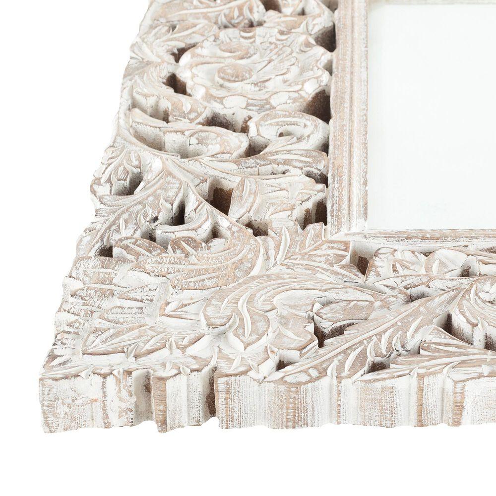 Surya Inc Naomi Wall Mirror in White, , large