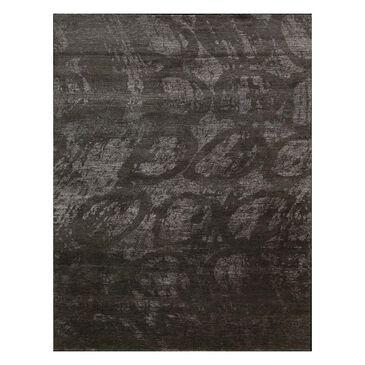 "Nourison Silk Shadows SHA04 2'3"" x 8' Coal Runner Rug, , large"