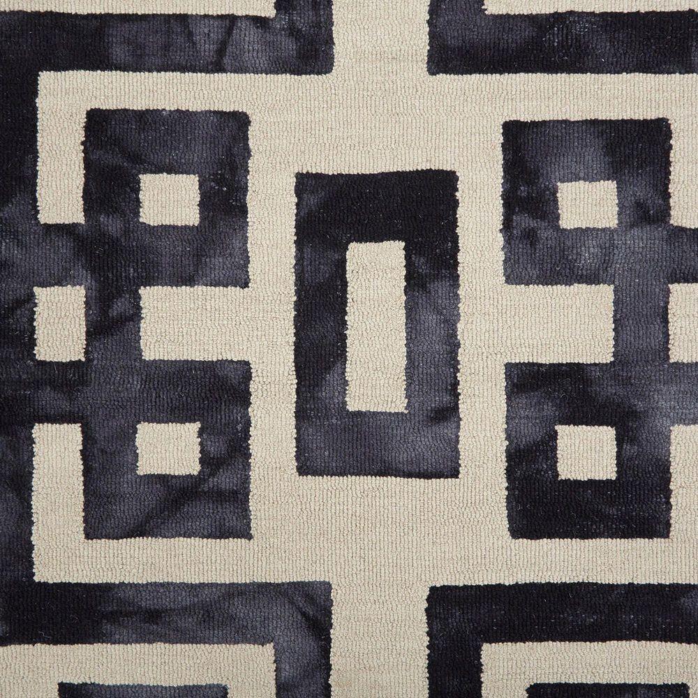 "Feizy Rugs Lorrain 8568F 9'6"" x 13'6"" Noir Area Rug, , large"