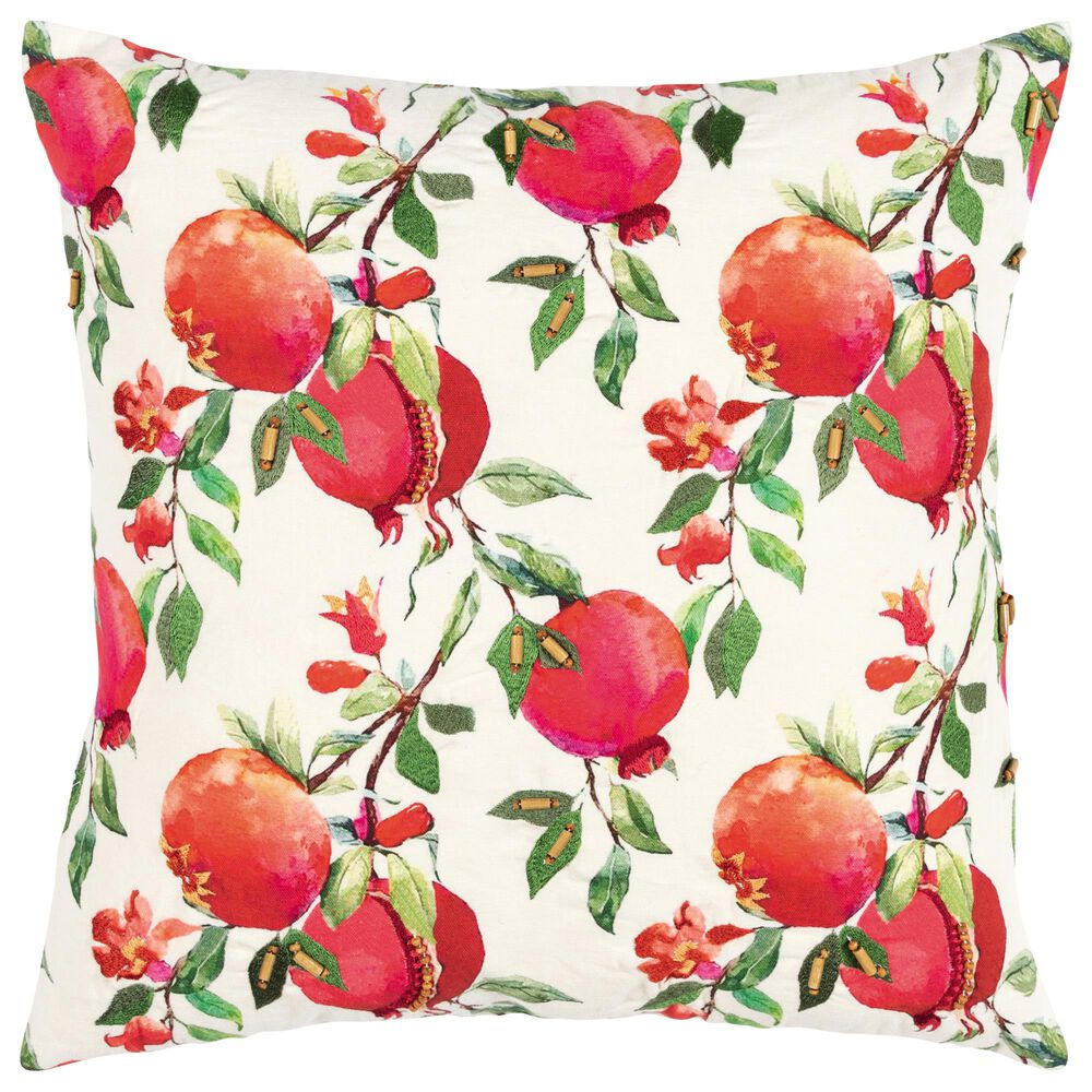 """Rizzy Home Transitional 20"""" Pillow in Multi, , large"""