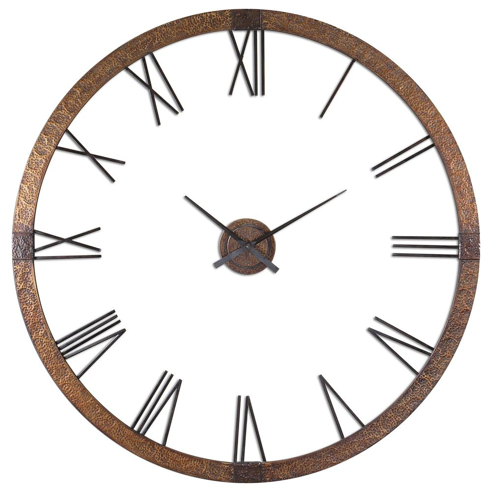 """Uttermost Amarion 60"""" Wall Clock, , large"""