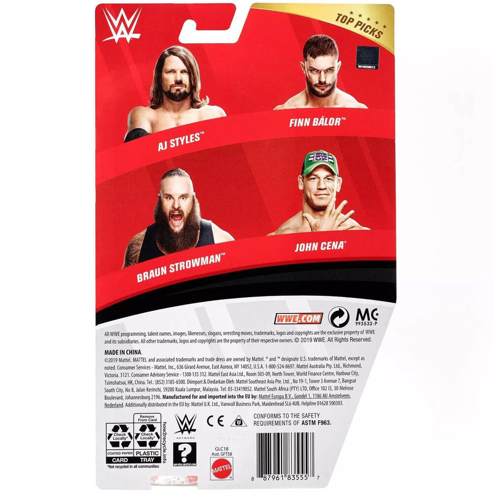 Mattel WWE Top Talent AJ Styles , , large