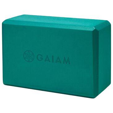 Gaiam Yoga Essentials Block in Lush Teal, , large
