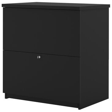 Bestar Standard Lateral File In Black, , large