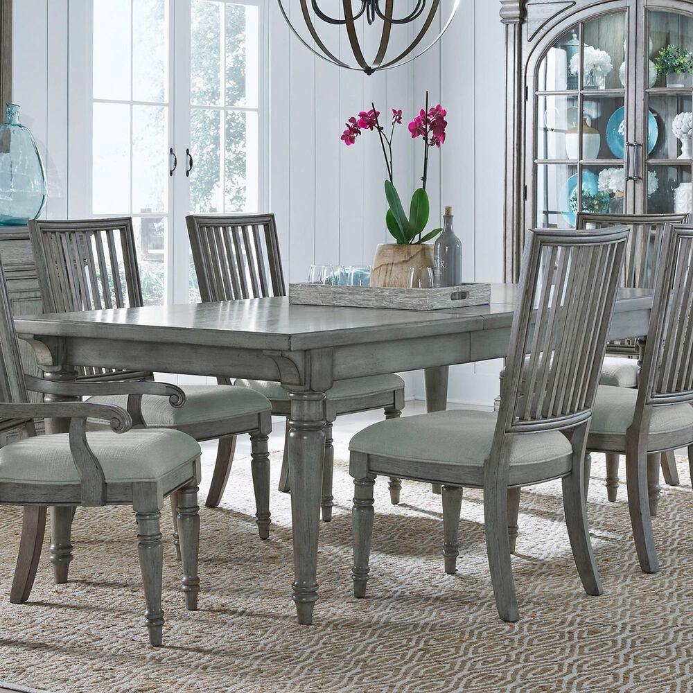Chapel Hill Madison Ridge Table in Gray, , large