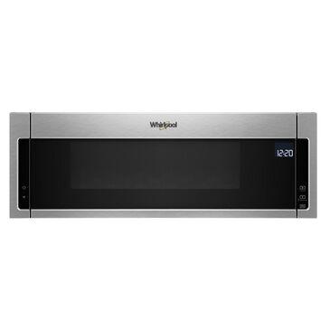 Whirlpool 1.1 Cu. Ft. 1000 watt Low Profile Microwave Hood Combination in Fingerprint Resistant Stainless Steel, , large