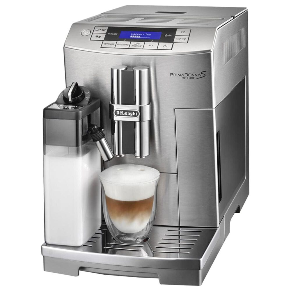 Delonghi Prima Donna S Deluxe in Stainless Steel, , large