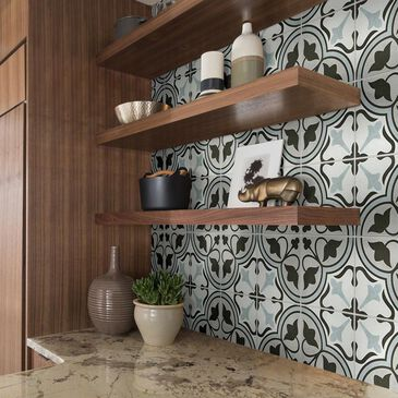 """Shaw Revival Mirasol Agate 8"""" x 8"""" Porcelain Tile, , large"""