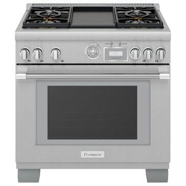 """Thermador 36"""" Pro Grand Commercial Depth Gas Range in Stainless Steel, , large"""