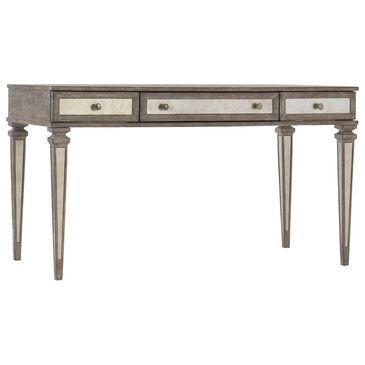Hooker Furniture Rustic Glam Leg Desk in Light Wood, , large