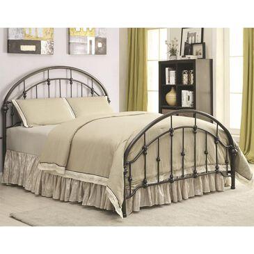 Pacific Landing Maywood Full Metal Bed in Black, , large