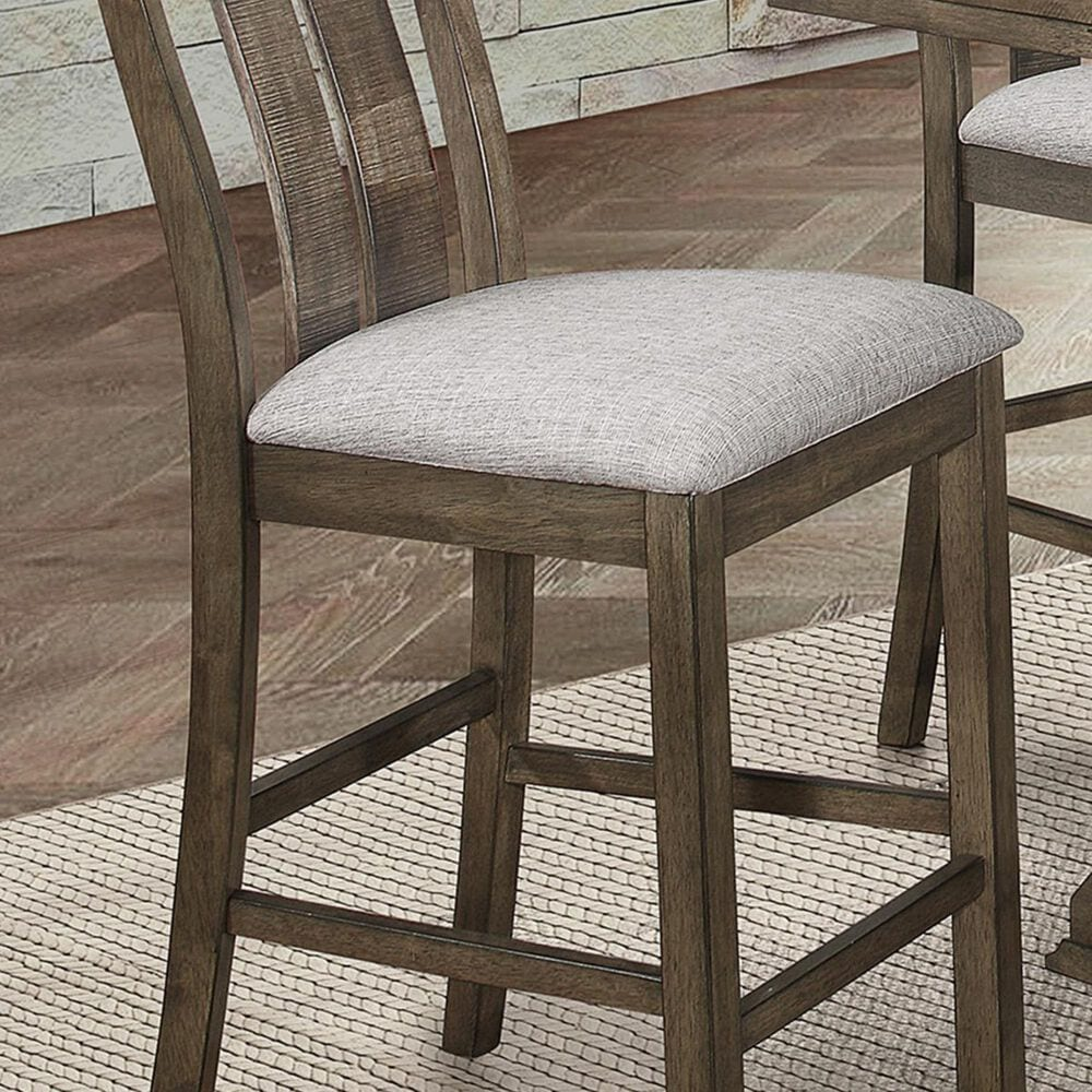 Claremont Quincy Counter Height Chair in Gray, , large