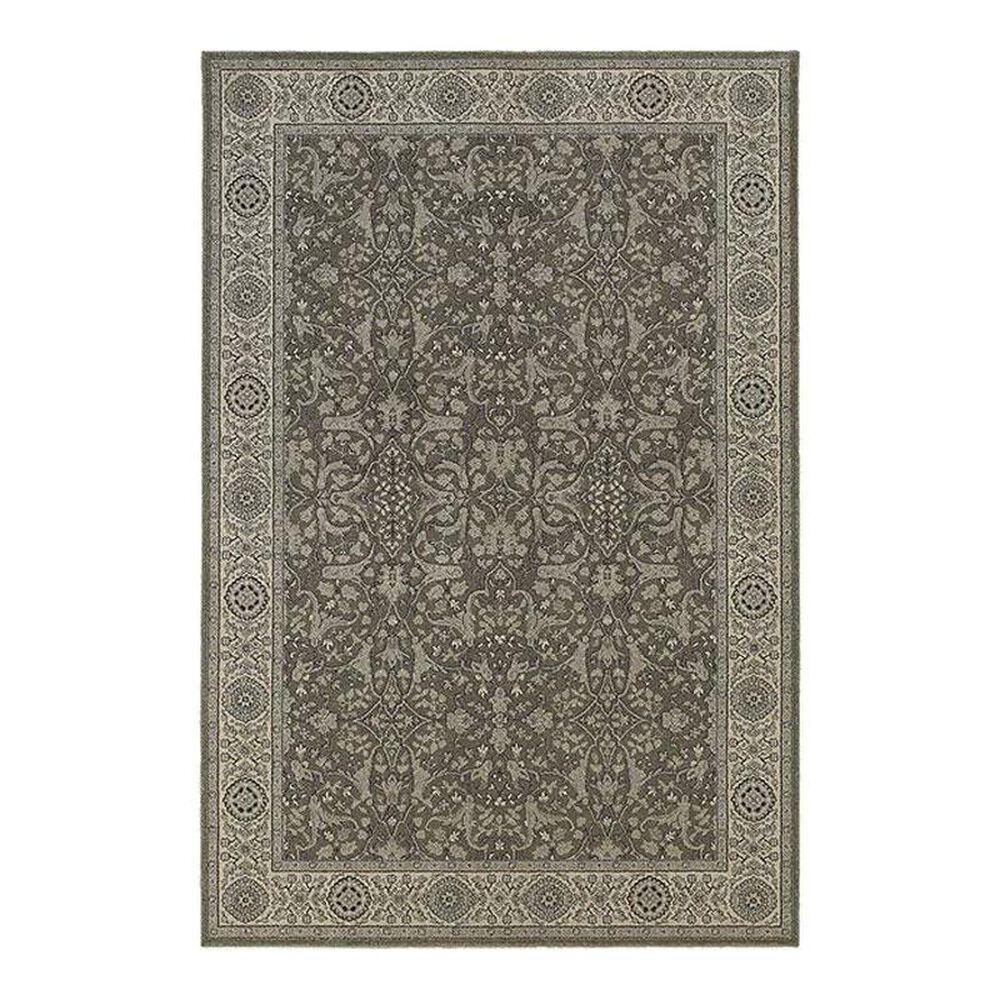 "Oriental Weavers Richmond 1E 7'10"" x 10'10"" Grey Area Rug, , large"