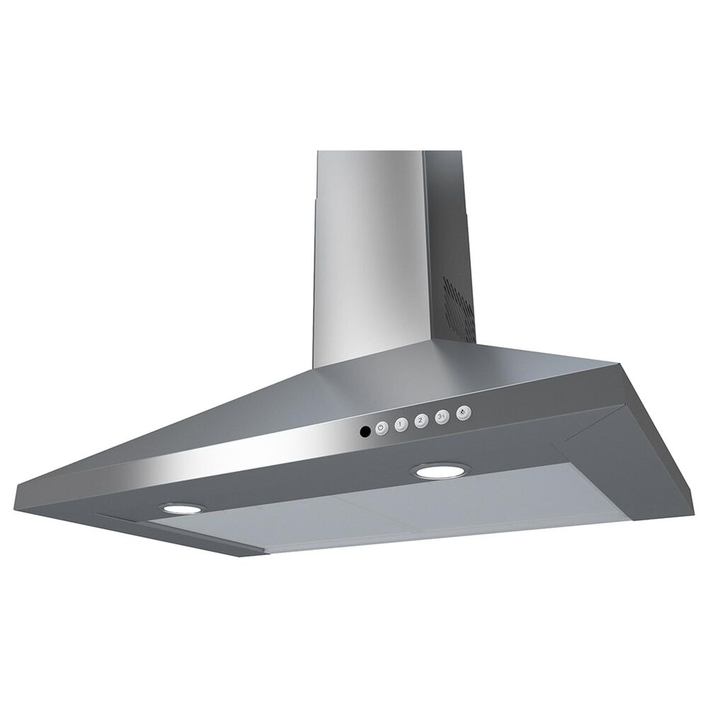 """Faber 30"""" Classica Plus Chimney Wall Hood with Vam in Stainless Steel, , large"""