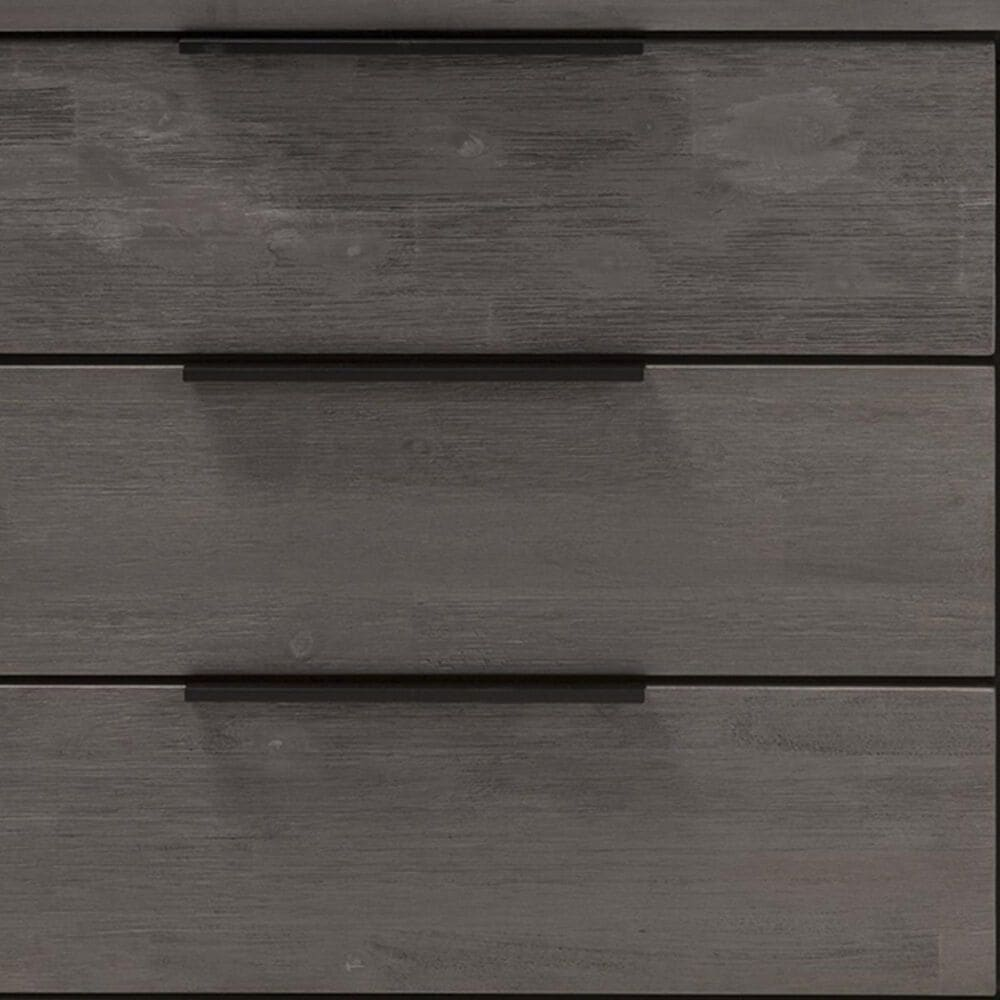 Baxton Studio Nash 6 Drawer Dresser in Platinum Grey, , large