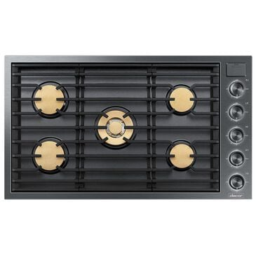 """Dacor 36"""" Gas Cooktop in Graphite Stainless Steel, , large"""