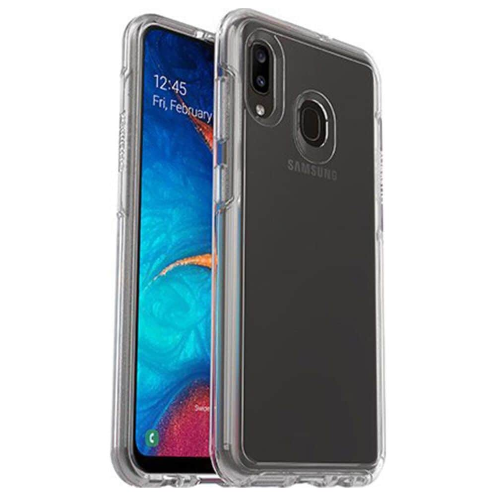Otterbox Symmetry Series Clear Case for Samsung Galaxy A20 in Clear, , large