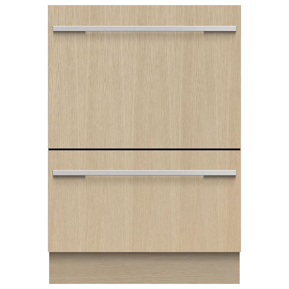 Fisher and Paykel DD24DTX6HI1 Integrated Panel Ready Double DishDrawer Dishwasher, , large