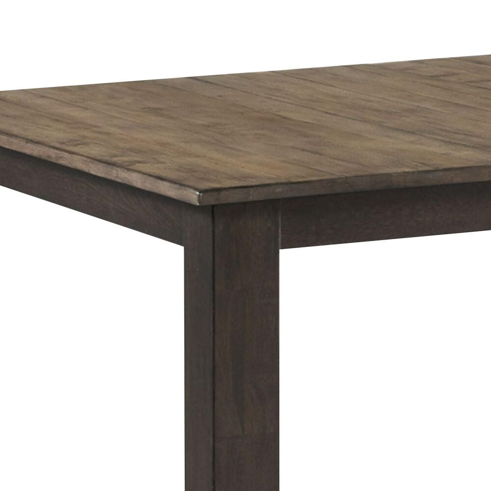 Hawthorne Furniture Beacon Dining Table in Black and Walnut, , large