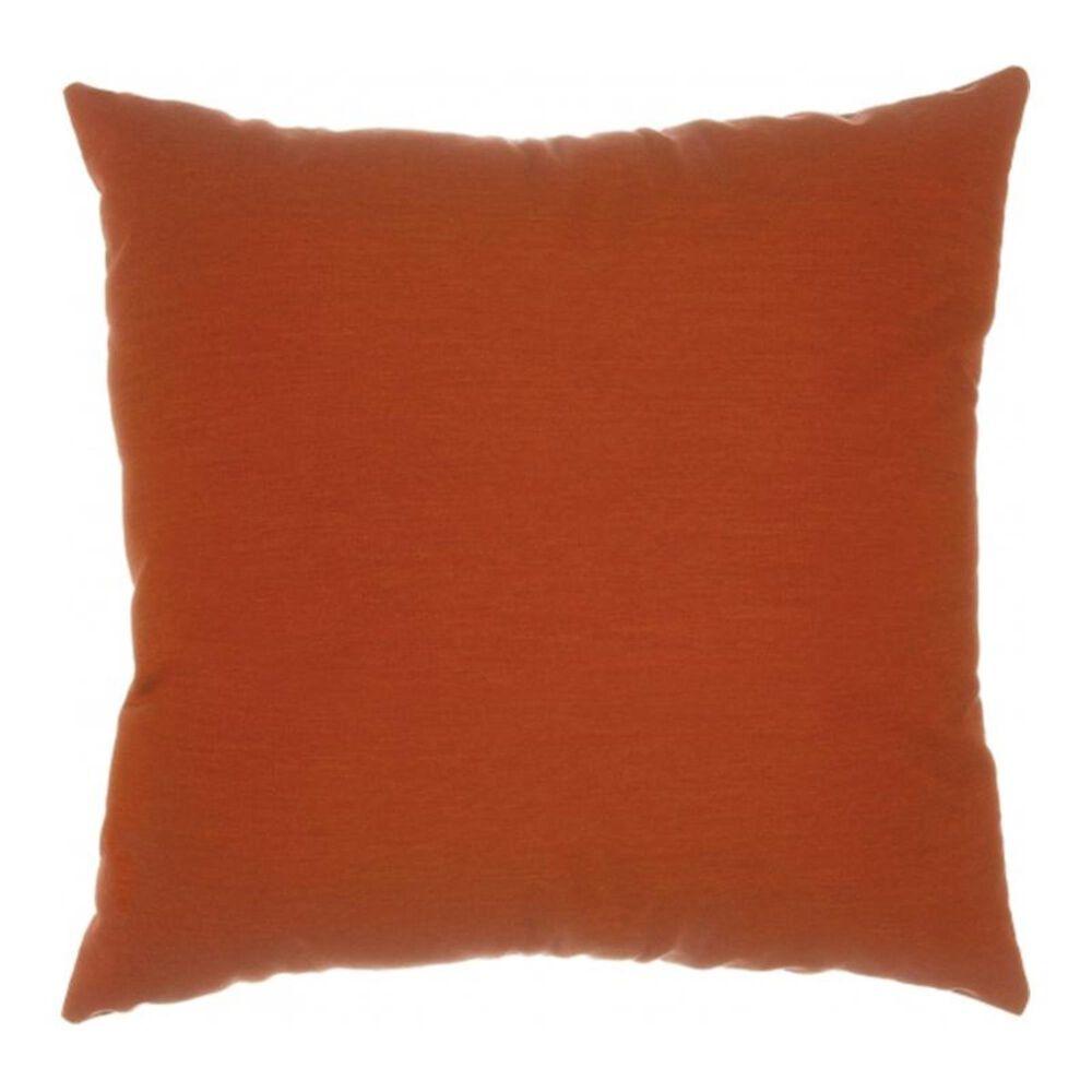 "The Hammock Source Sunbrella 18"" x 18"" Throw Pillow in Canvas Brick, , large"
