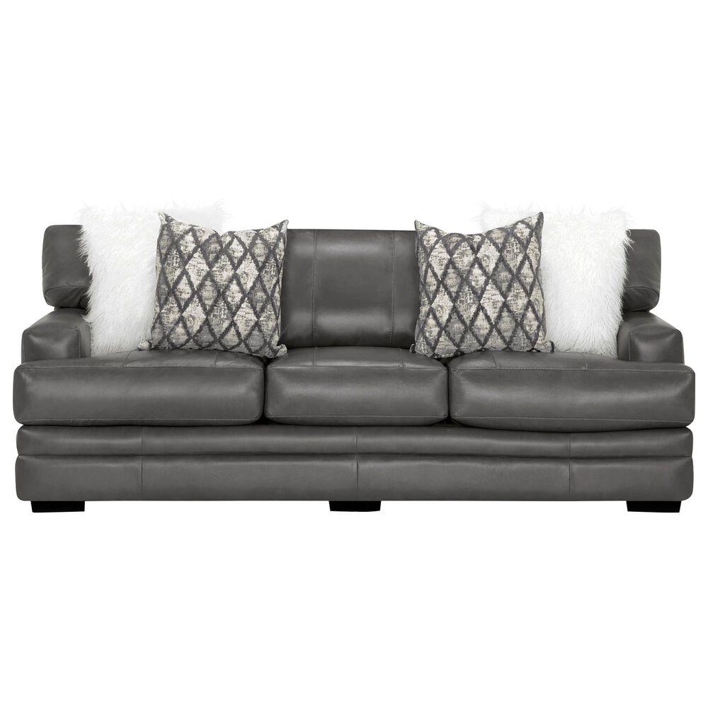 Moore Furniture Lizette Sofa in Dark Gray, , large
