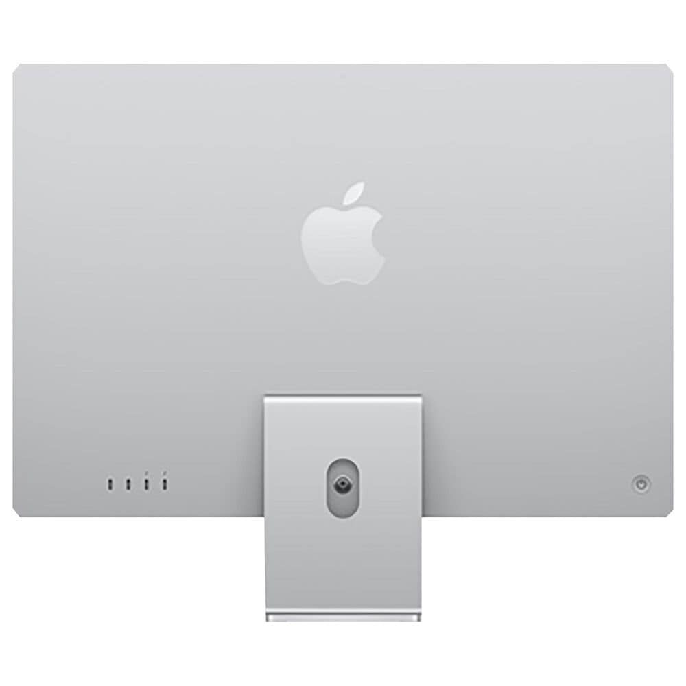 Apple iMac (4.5K Retina, 24-inch, 2021) 7C GPU | 256GB | 2-Port - Silver (Latest Model) with 3 Years AppleCare, , large