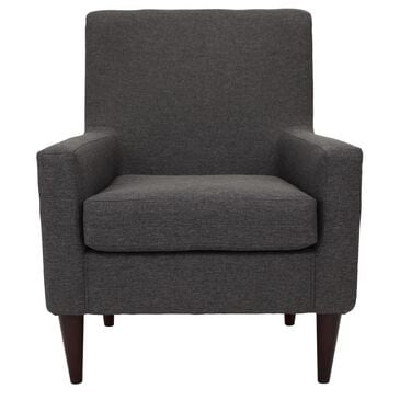 Overman International Corp Accent Chair in Jitterbug Gray, , large
