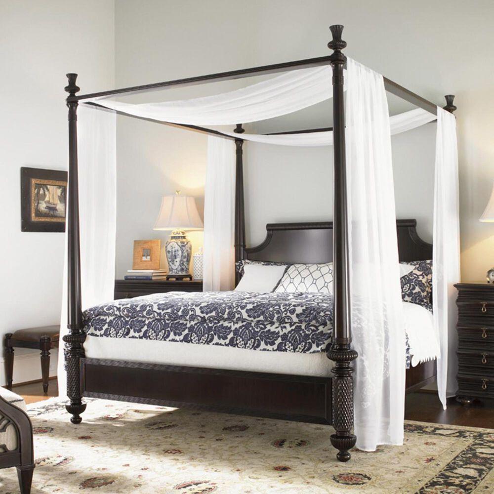 Tommy Bahama Home Royal Kahala King Canopy Bed, , large