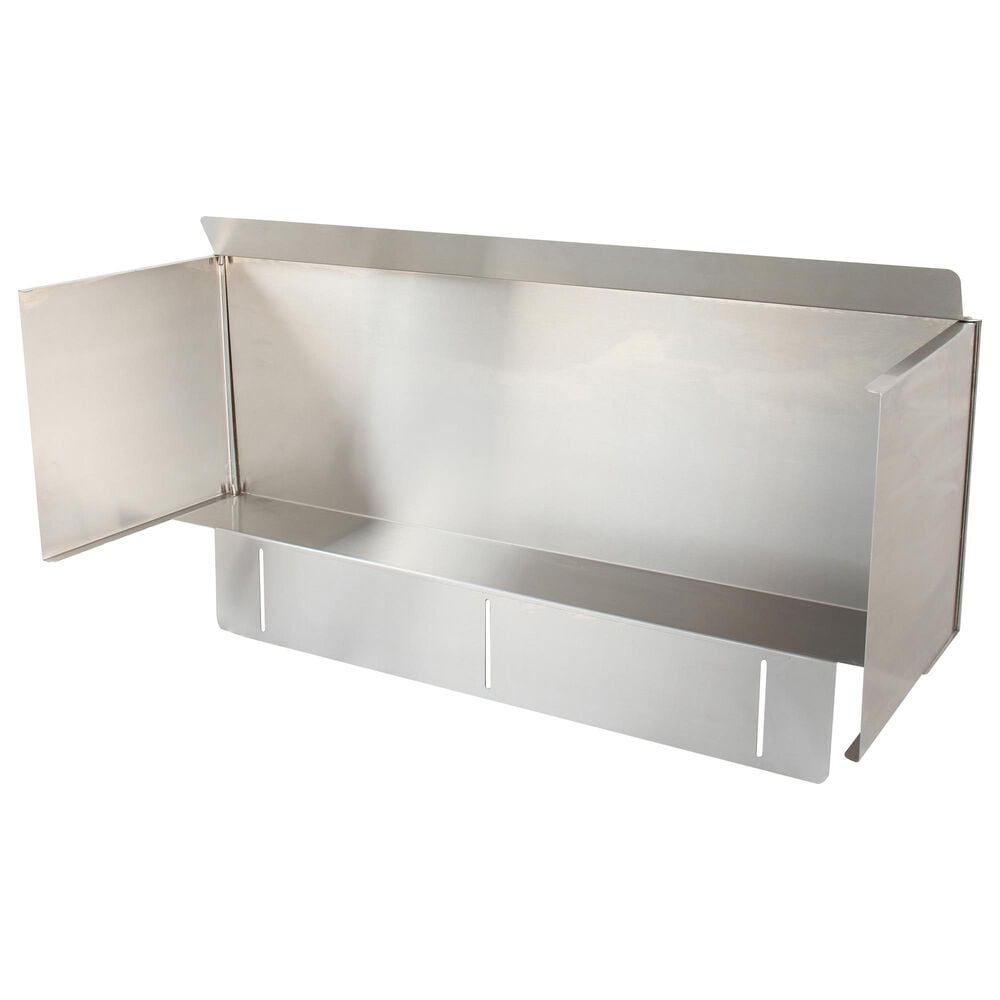 Blaze Wind Guard for 4-Burner Gas Grill in Stainless Steel, , large