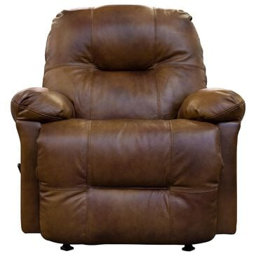 Best Home Furnishings Zaynah Leather Rocker Recliner in Saddle, , large