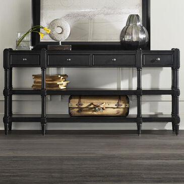 Hooker Furniture Ashton Console Table in Black, , large