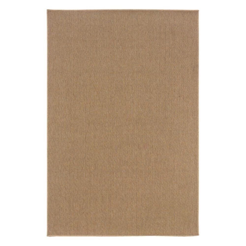 "Oriental Weavers Karavia 2067X 1""9"" x 3""9"" Sand Scatter Rug, , large"