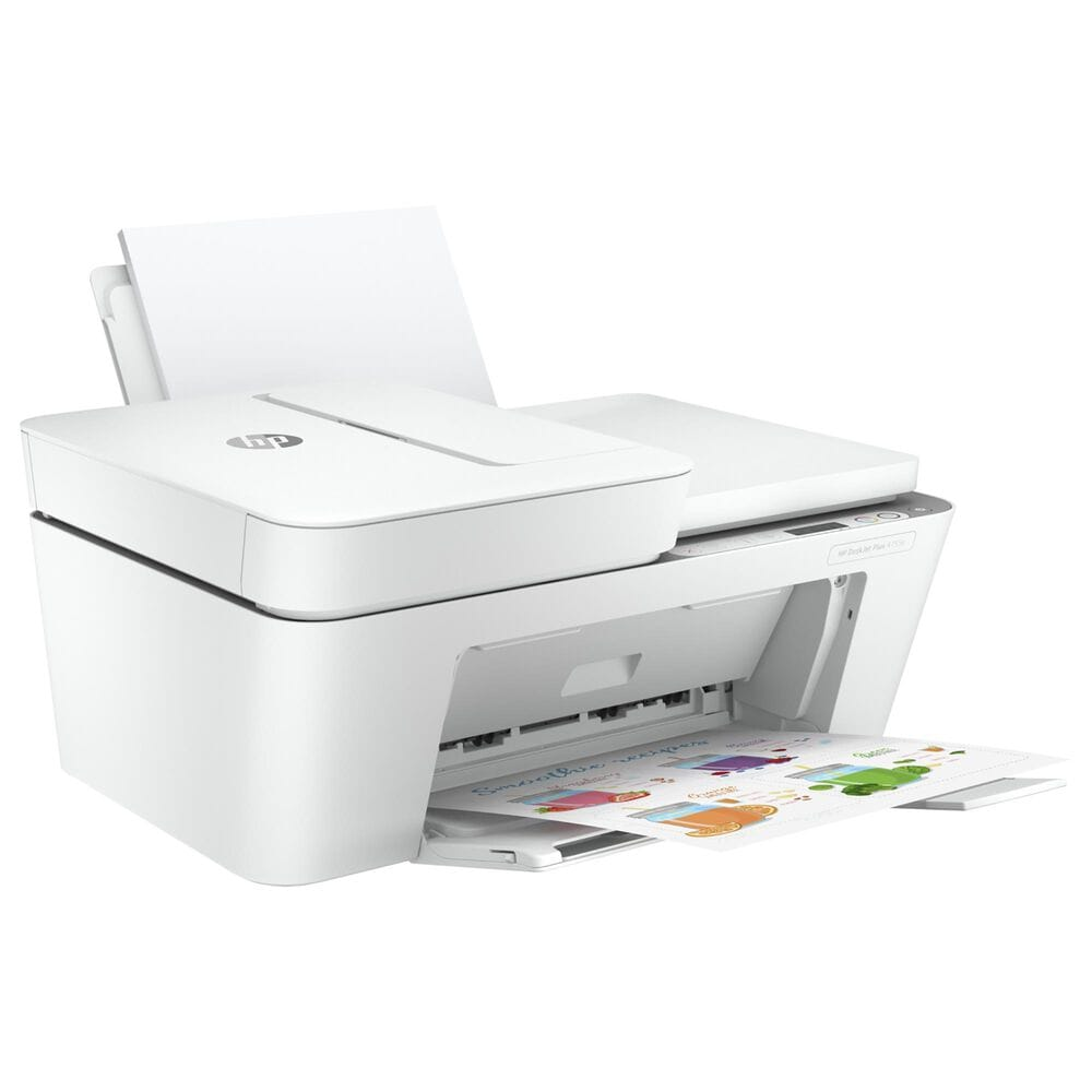 HP DeskJet Plus 4155e All-In-One Printer in White, , large