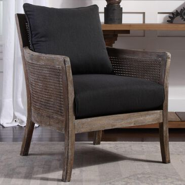 Uttermost Encore Armchair in Dark Gray, , large