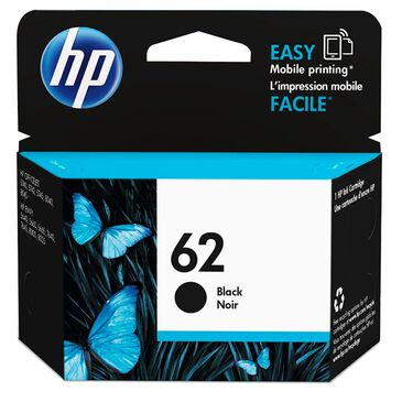 HP 62 Black Ink Cartridge, , large