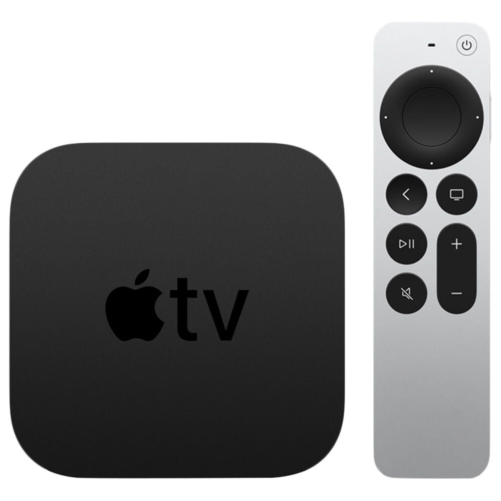 Apple TV 4K 64GB (Latest Model) in Black with 3 Years AppleCare, , large