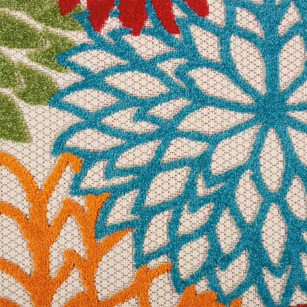 "Nourison Aloha ALH05 9'6"" x 13' Green Indoor/Outdoor Rug, , large"