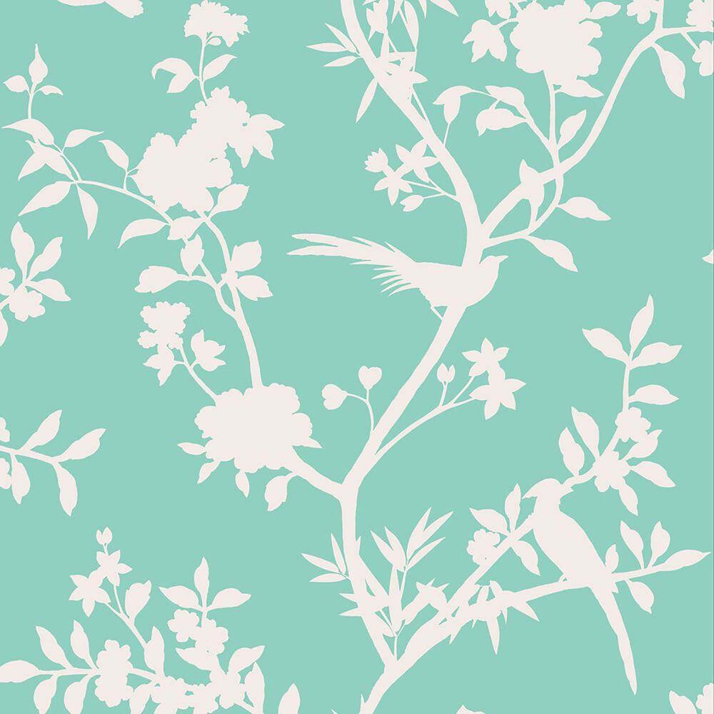 Tempaper Garden Affair Calypso Peel and Stick Wallpaper, , large