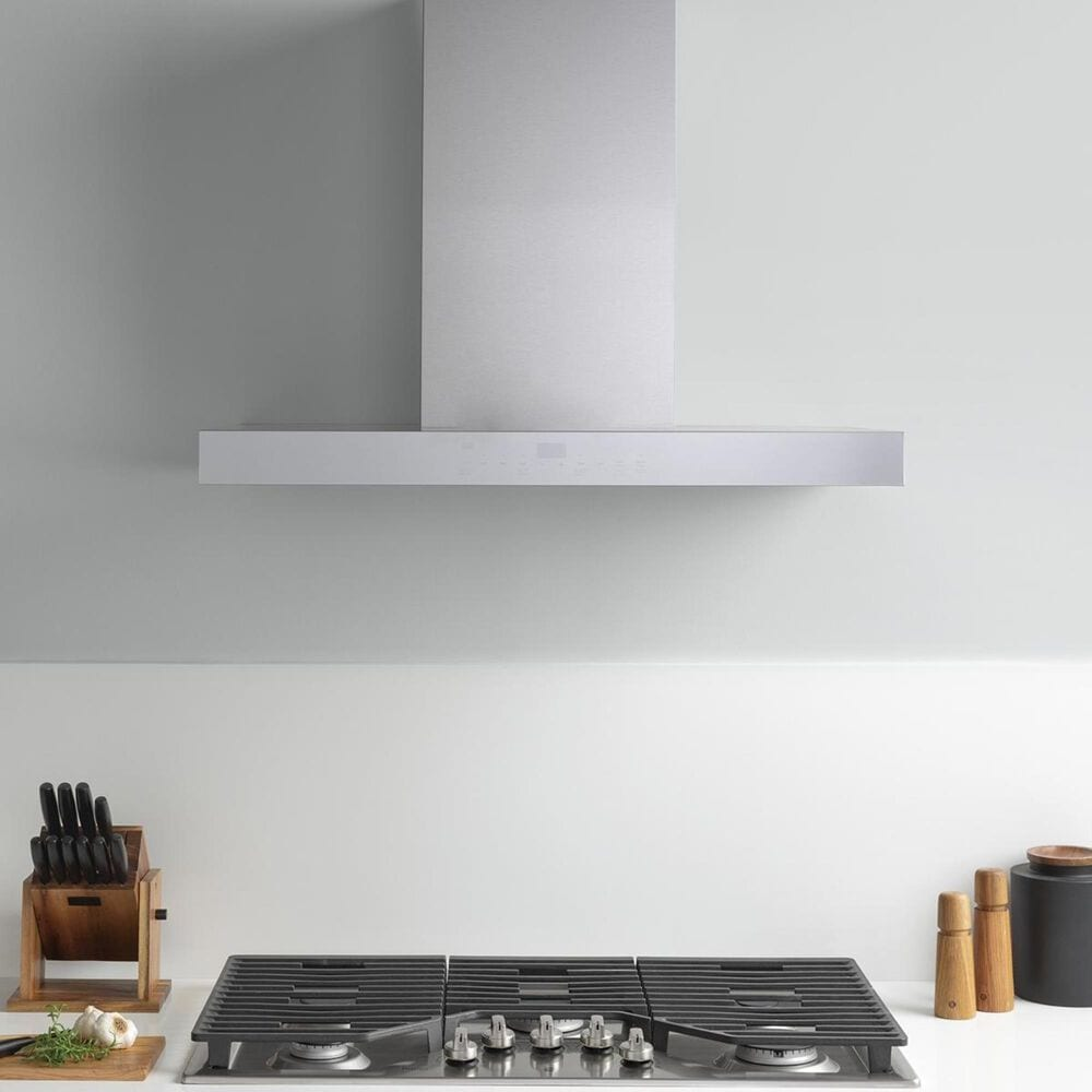 "GE Appliances 36"" Wi-fi Designer Wall Hood in Stainless Steel, , large"