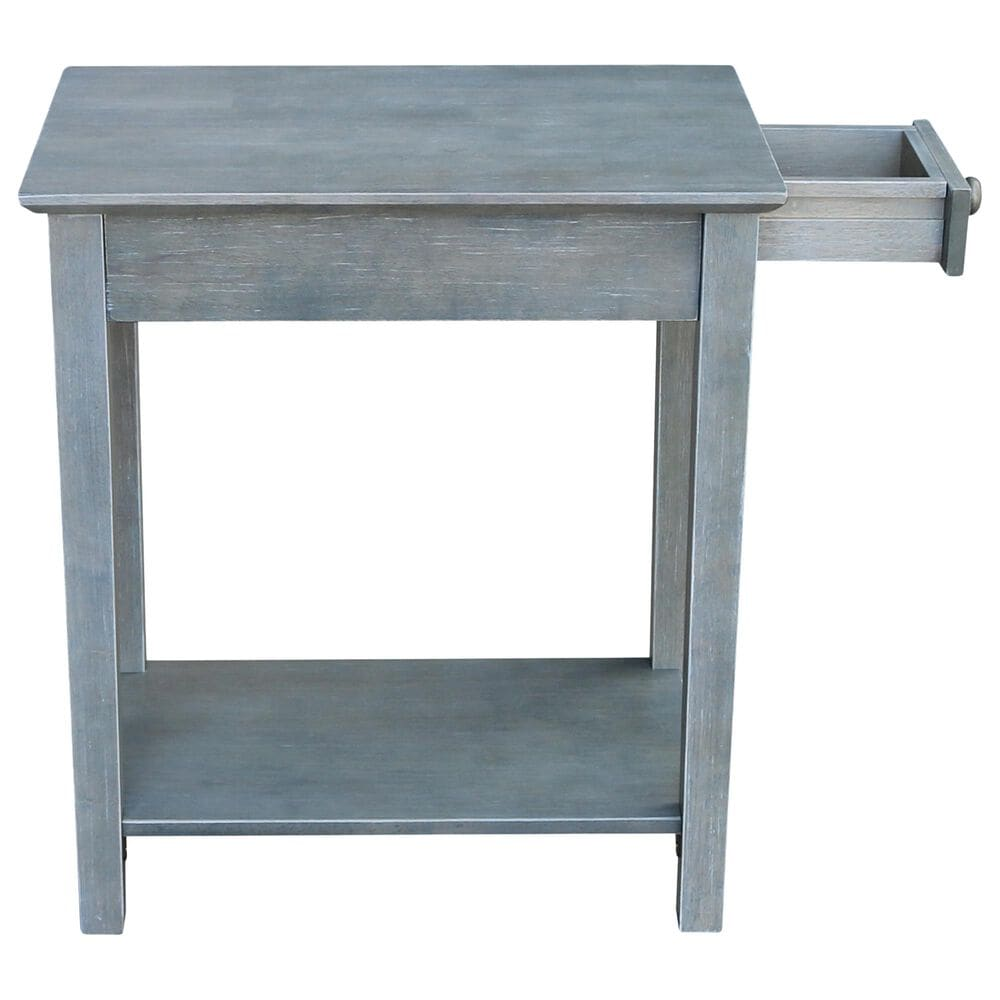 International Concepts End Table in Heather Grey, , large