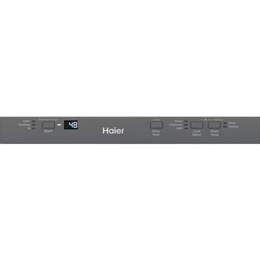 """Haier 18"""" Built-In Dishwasher in Stainless Steel , , large"""